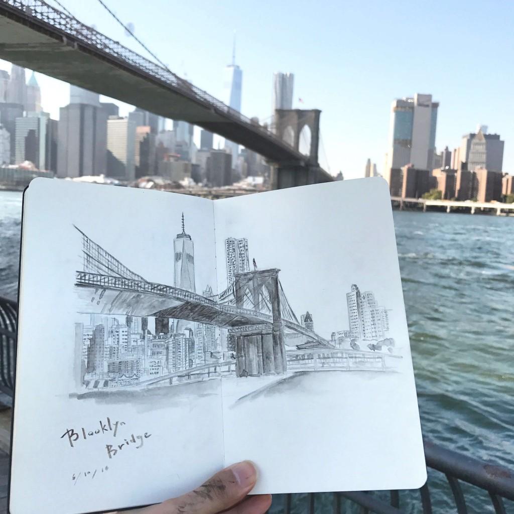アーバンスケッチ ニューヨーク/Urban Sketch in NY